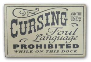 No-cursing