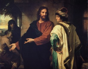 """Christ and the Rich Young Ruler"" by Heinrich Hofmann"