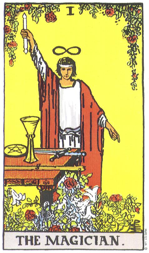 The-Magician Tarot