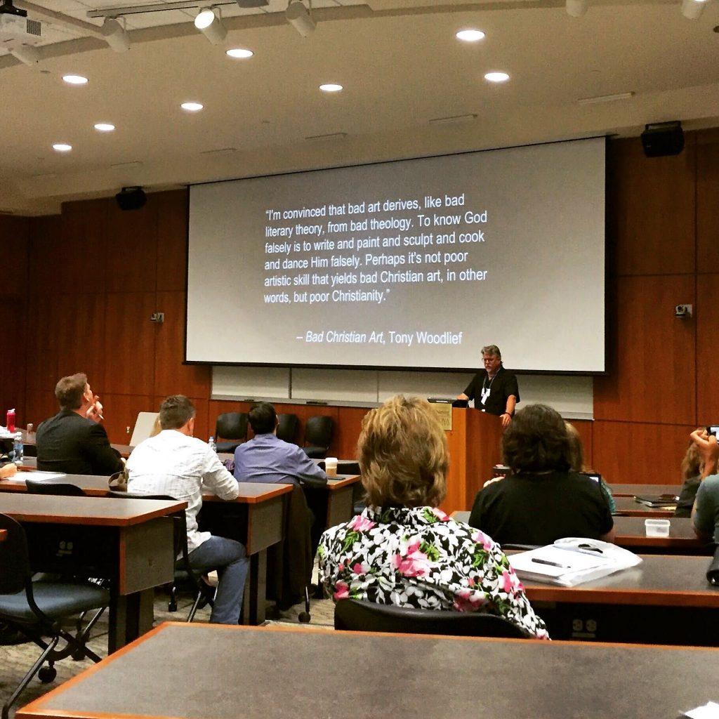 Theology of Speculative Fiction class at Realm Makers 2016
